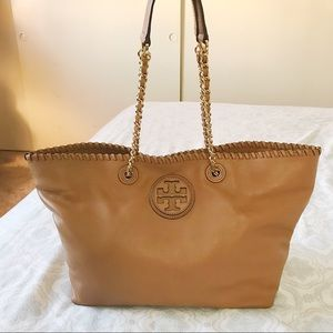 Tory Burch Marion East West Small Tote